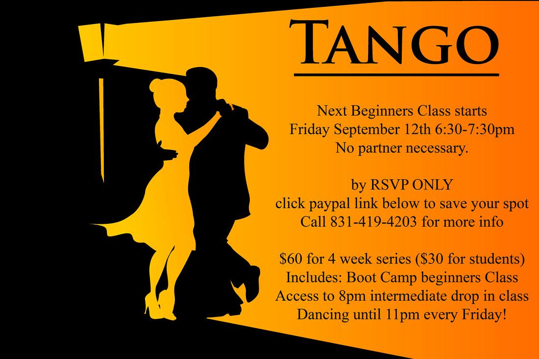 Tango Beginners Class